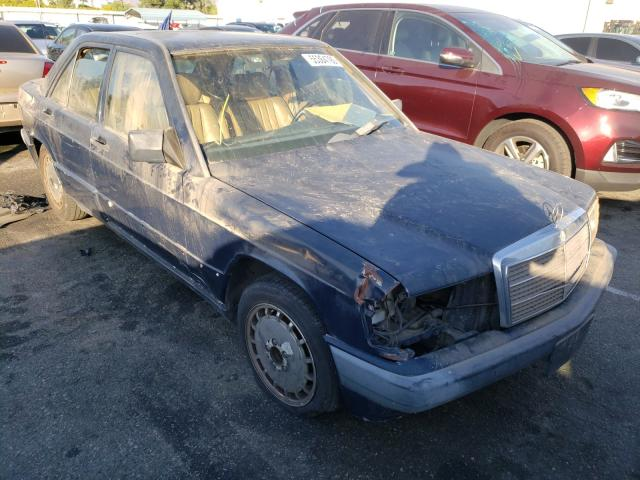 Mercedes-Benz 190 E 2.6 salvage cars for sale: 1990 Mercedes-Benz 190 E 2.6