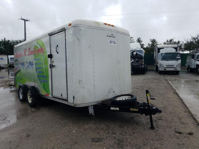 Trail King Trailer salvage cars for sale: 2017 Trail King Trailer