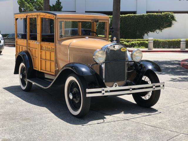 Salvage cars for sale from Copart Rancho Cucamonga, CA: 1930 Ford Model A