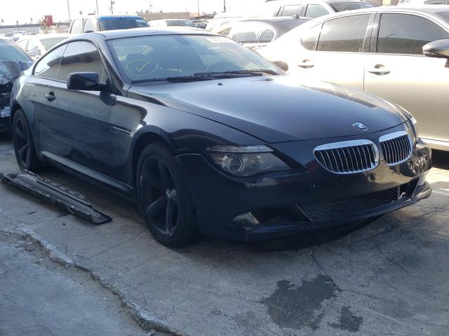 Salvage cars for sale from Copart Sun Valley, CA: 2008 BMW 650 I