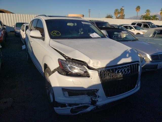 Salvage cars for sale from Copart Colton, CA: 2015 Audi Q7 Premium