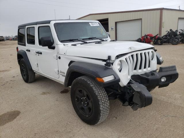 Salvage cars for sale from Copart Temple, TX: 2018 Jeep Wrangler U