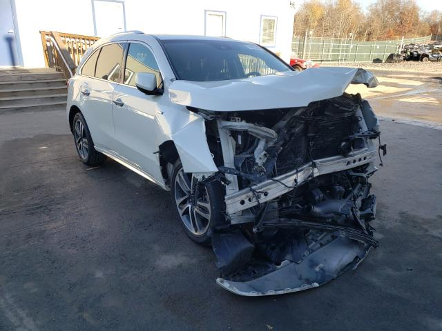 Salvage cars for sale from Copart Duryea, PA: 2017 Acura MDX Sport