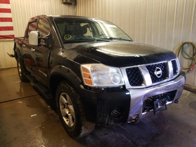 Salvage cars for sale from Copart Avon, MN: 2005 Nissan Titan XE