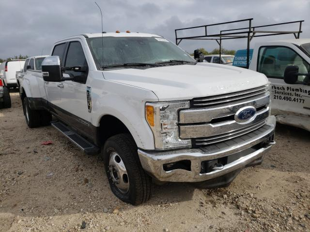 Salvage cars for sale from Copart San Antonio, TX: 2017 Ford F350 Super