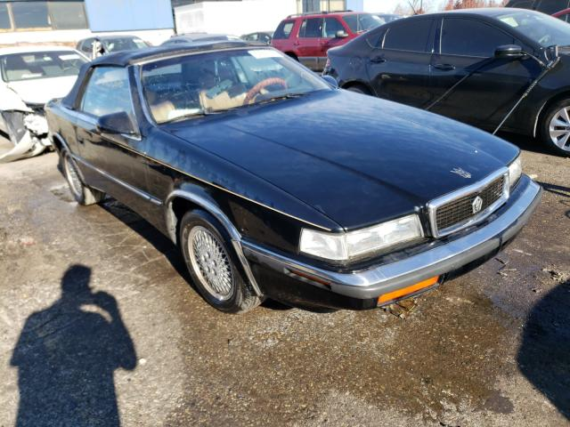 Chrysler TC BY Mase salvage cars for sale: 1990 Chrysler TC BY Mase