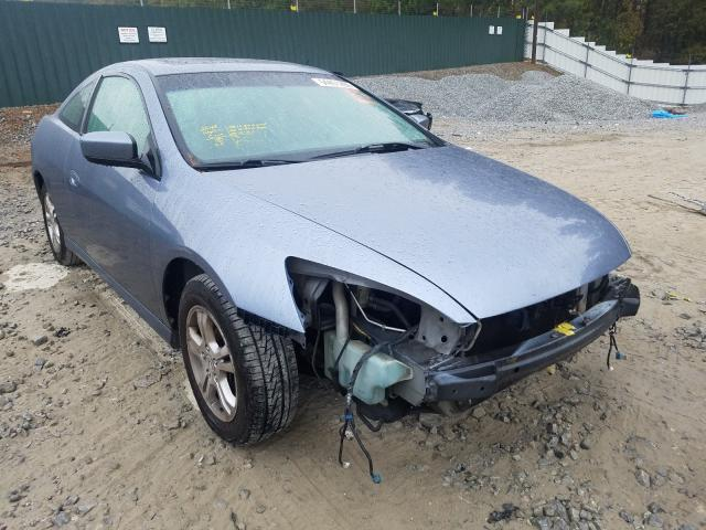 Salvage cars for sale from Copart Ellenwood, GA: 2007 Honda Accord EX
