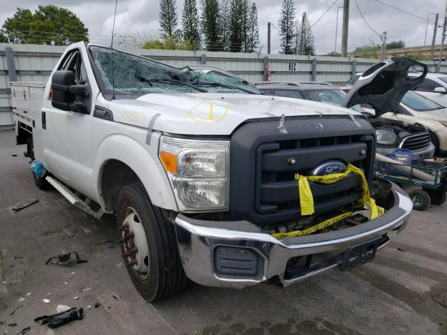 Salvage cars for sale from Copart Miami, FL: 2014 Ford F350 Super