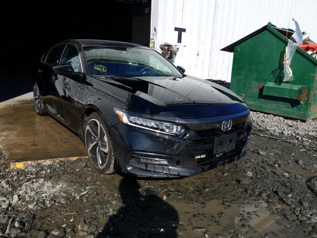 Salvage cars for sale from Copart Windsor, NJ: 2019 Honda Accord Sport