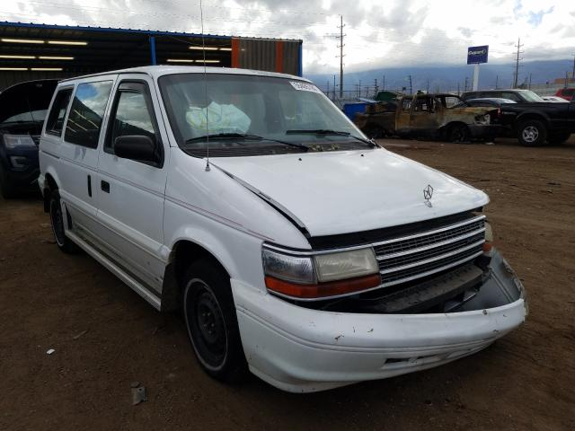 Plymouth salvage cars for sale: 1994 Plymouth Voyager