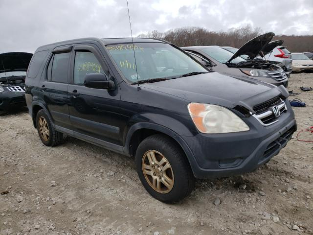 Salvage cars for sale from Copart West Warren, MA: 2002 Honda CR-V