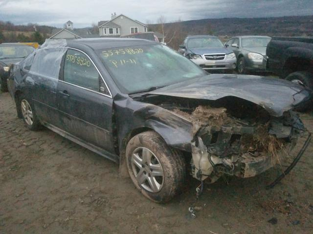 Salvage cars for sale from Copart West Warren, MA: 2010 Chevrolet Impala LS