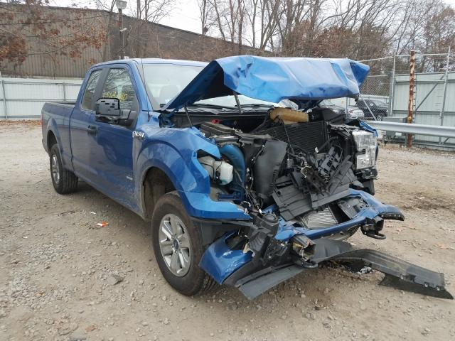 Salvage cars for sale from Copart North Billerica, MA: 2017 Ford F150 Super