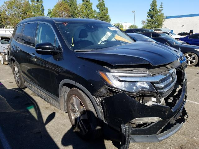 Salvage cars for sale from Copart Rancho Cucamonga, CA: 2016 Honda Pilot Elit