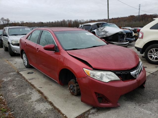 Salvage cars for sale from Copart Louisville, KY: 2013 Toyota Camry L