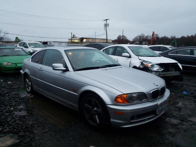 Salvage cars for sale from Copart Hillsborough, NJ: 2001 BMW 3 Series