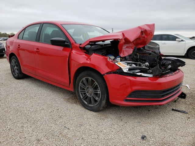 Salvage cars for sale from Copart San Antonio, TX: 2015 Volkswagen Jetta