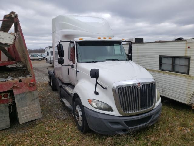 Salvage cars for sale from Copart Davison, MI: 2012 International Prostar