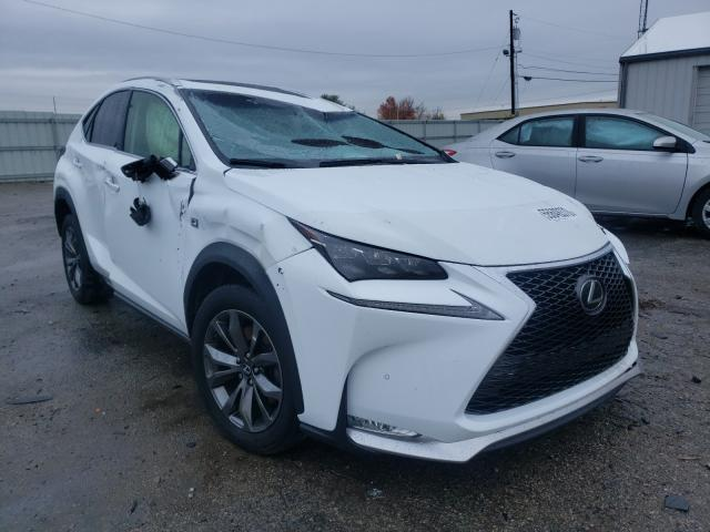 Salvage cars for sale from Copart Lexington, KY: 2016 Lexus NX 200T BA