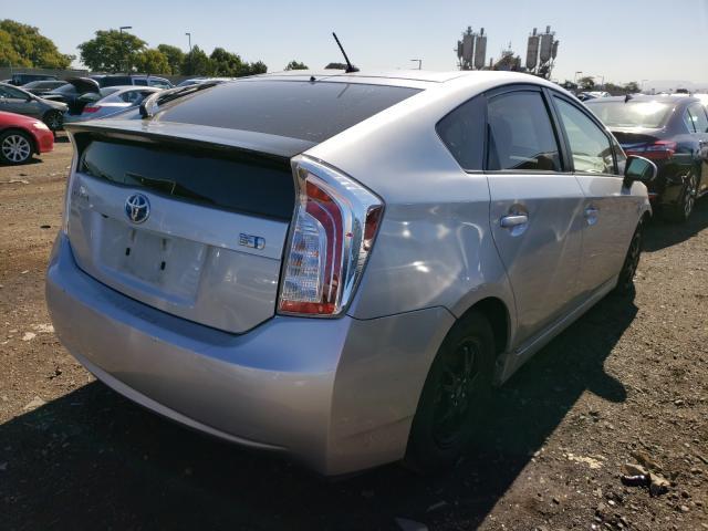 цена в сша 2015 Toyota Prius 1.8L JTDKN3DU3F0440814
