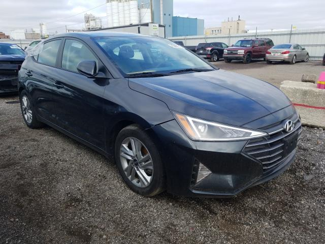 Salvage cars for sale from Copart Chicago Heights, IL: 2020 Hyundai Elantra SE