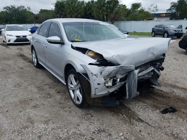 Salvage cars for sale from Copart West Palm Beach, FL: 2012 Volkswagen Passat SEL