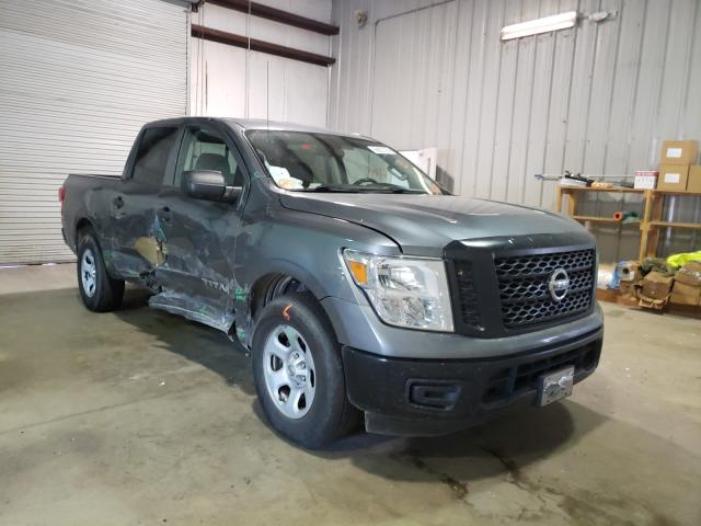 Salvage cars for sale from Copart Lufkin, TX: 2018 Nissan Titan S