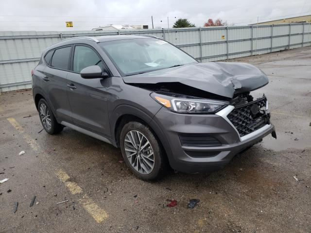 Salvage cars for sale from Copart Lexington, KY: 2020 Hyundai Tucson Limited