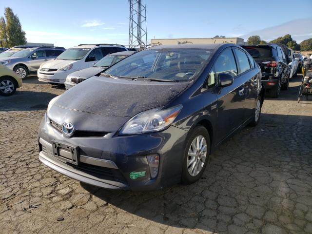 из сша 2012 Toyota Prius Plug 1.8L JTDKN3DP7C3028318