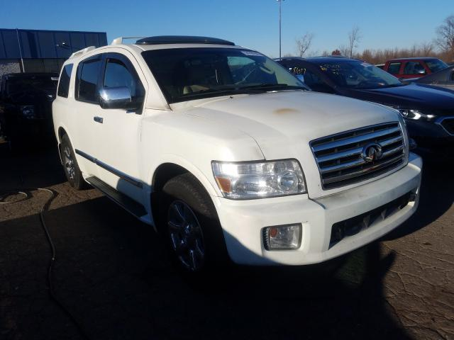 Salvage cars for sale at Woodhaven, MI auction: 2007 Infiniti QX56