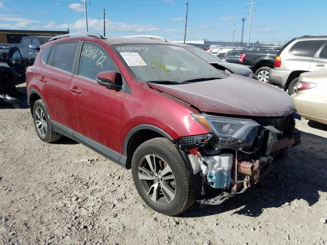Toyota salvage cars for sale: 2018 Toyota Rav4 Adven