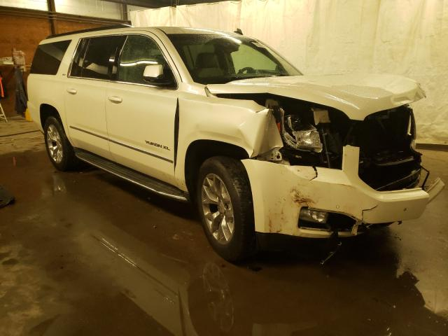 Salvage cars for sale from Copart Ebensburg, PA: 2015 GMC Yukon XL K