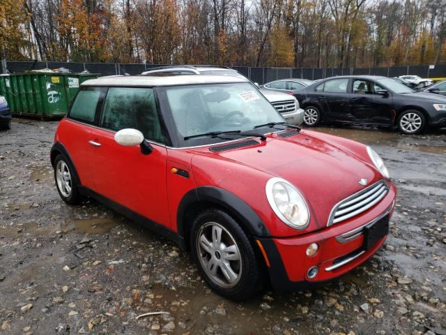 Mini salvage cars for sale: 2006 Mini Cooper