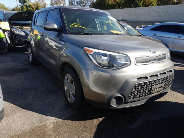 Salvage cars for sale from Copart Los Angeles, CA: 2016 KIA Soul