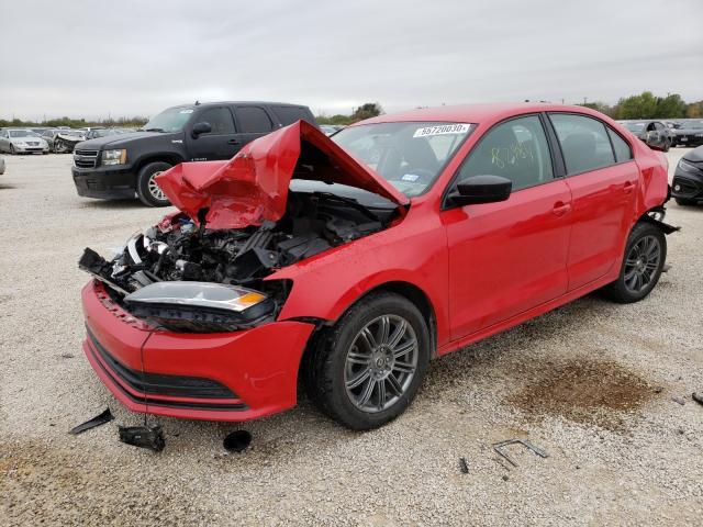 из сша 2015 Volkswagen Jetta 1.8L 3VWD17AJ8FM211111