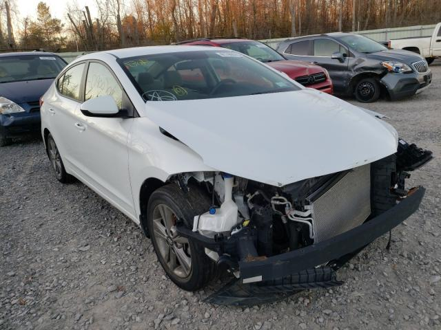 Salvage cars for sale from Copart Leroy, NY: 2017 Hyundai Elantra SE