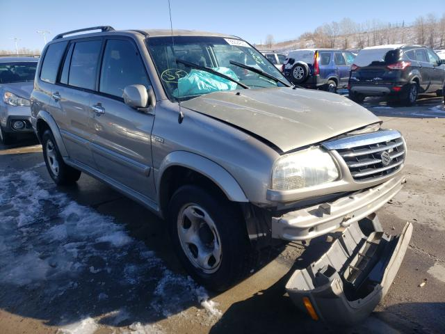 Suzuki XL7 Plus salvage cars for sale: 2002 Suzuki XL7 Plus