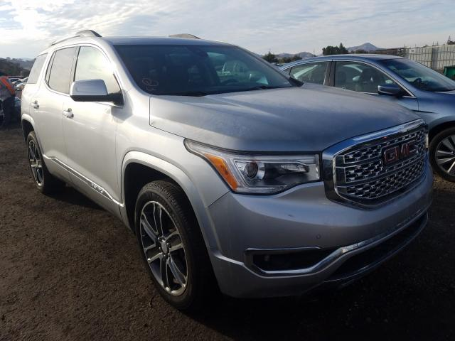 Salvage cars for sale from Copart San Martin, CA: 2017 GMC Acadia DEN