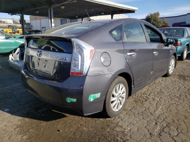 цена в сша 2012 Toyota Prius Plug 1.8L JTDKN3DP7C3028318
