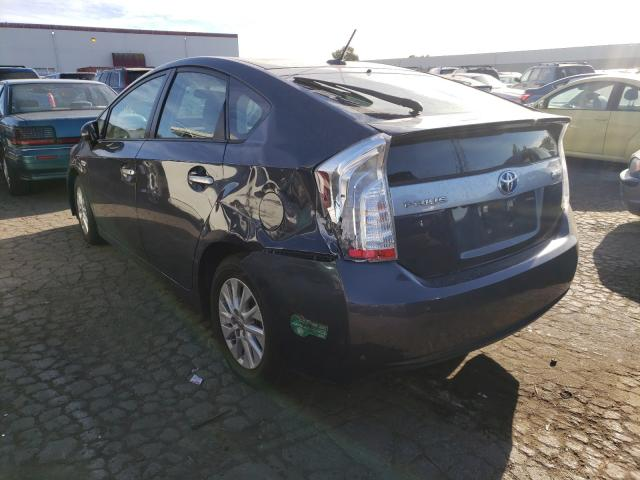 купить 2012 Toyota Prius Plug 1.8L JTDKN3DP7C3028318