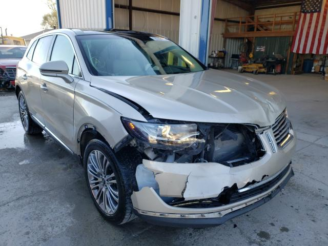 Lincoln salvage cars for sale: 2017 Lincoln MKX Reserv