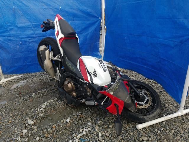 Honda salvage cars for sale: 2018 Honda CBR500 RA