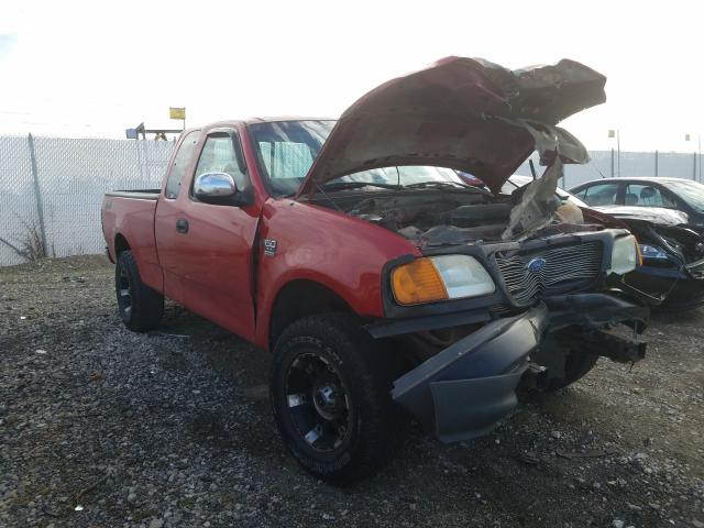 Salvage cars for sale from Copart Cicero, IN: 2004 Ford F-150 Heri