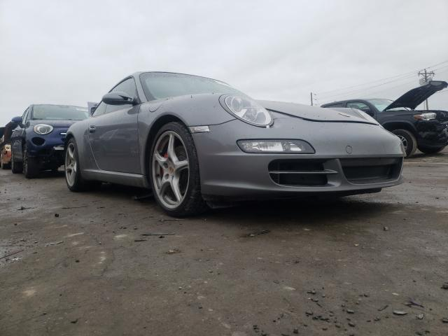 Porsche 911 New GE salvage cars for sale: 2005 Porsche 911 New GE