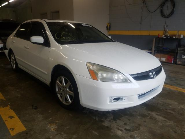 Salvage cars for sale from Copart Mocksville, NC: 2003 Honda Accord EX