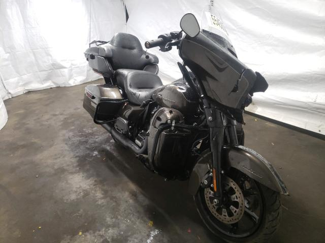 Salvage cars for sale from Copart Windsor, NJ: 2020 Harley-Davidson Flhtk