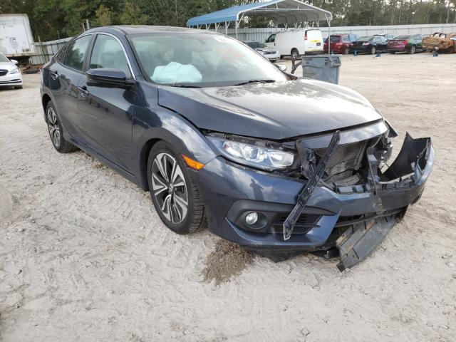 Salvage cars for sale from Copart Midway, FL: 2017 Honda Civic EXL
