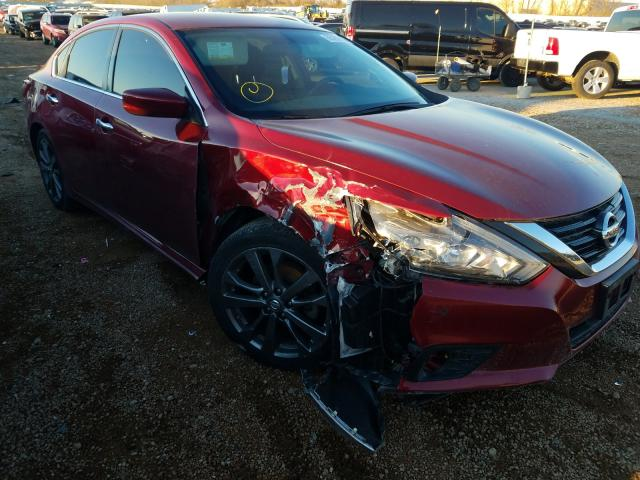 Salvage cars for sale from Copart Bridgeton, MO: 2018 Nissan Altima 2.5