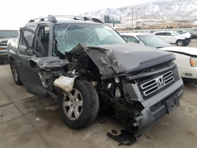 Salvage cars for sale from Copart Farr West, UT: 2007 Honda Ridgeline