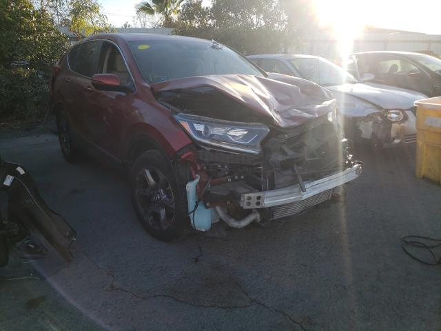 Salvage cars for sale from Copart Martinez, CA: 2018 Honda CR-V EX